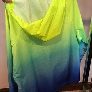 Fila sport gradient neon windbreaker